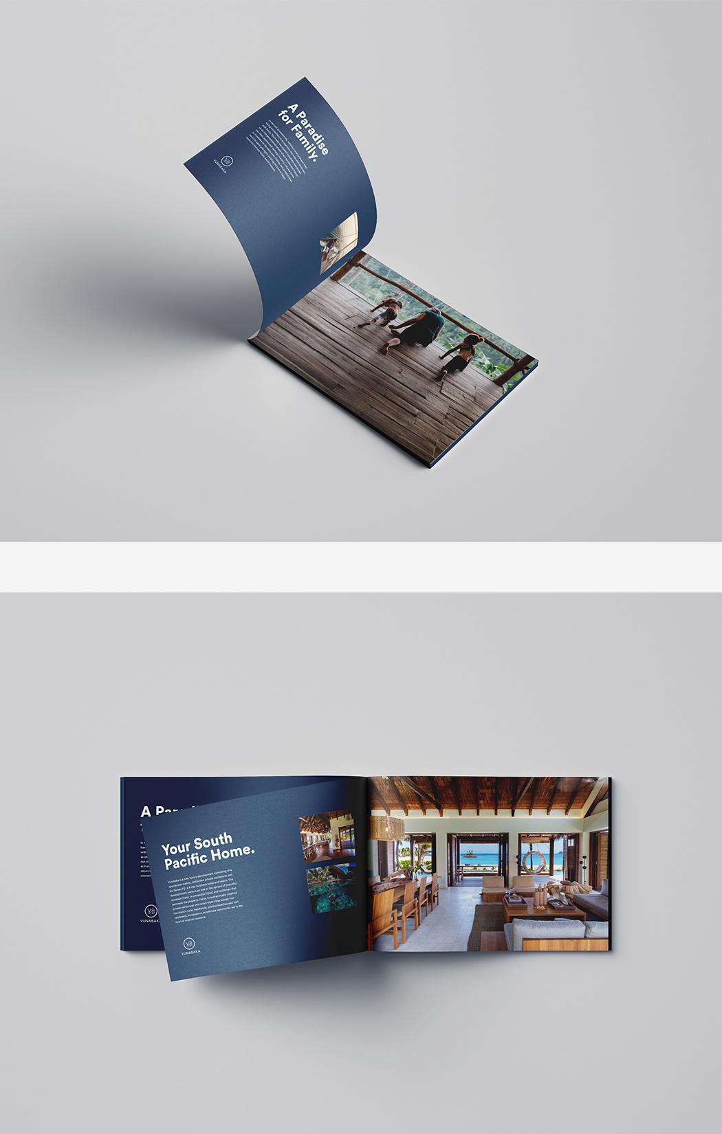 Vunabaka brochure design