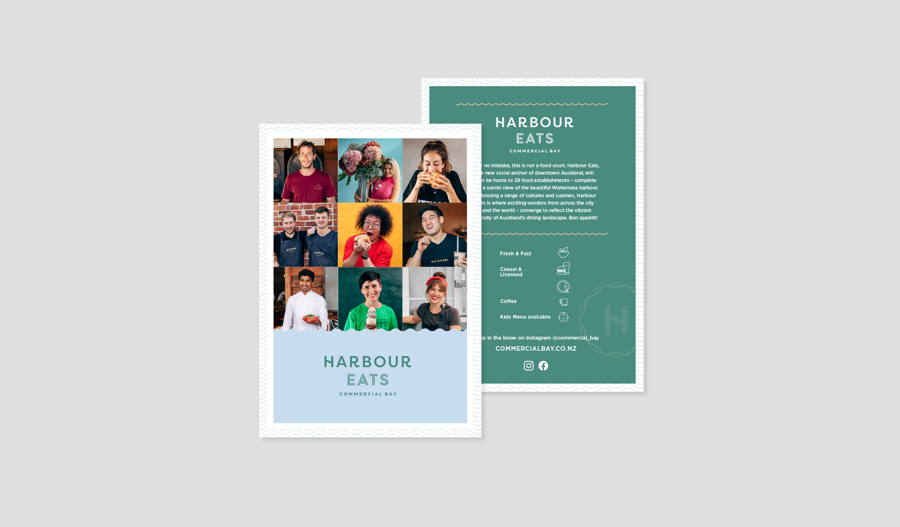 Harbour Eats Booklet